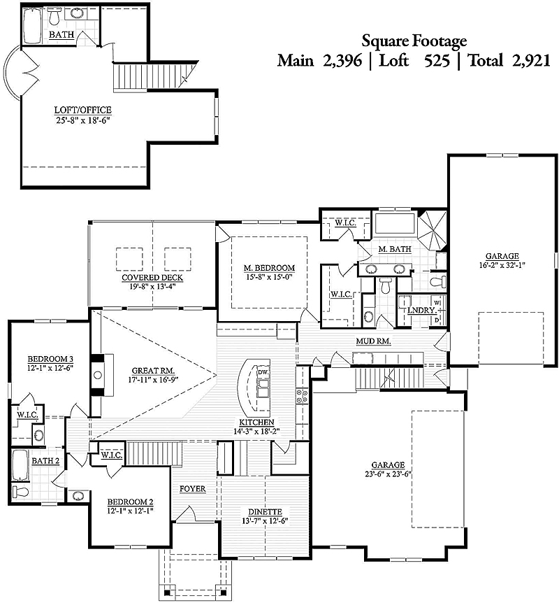 Pinehaven Floor Plan